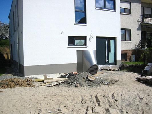 Neubau eines energieeffizienshauses 70 bei wettenberg von lerg holzhaus - Feuchte innenwande ...